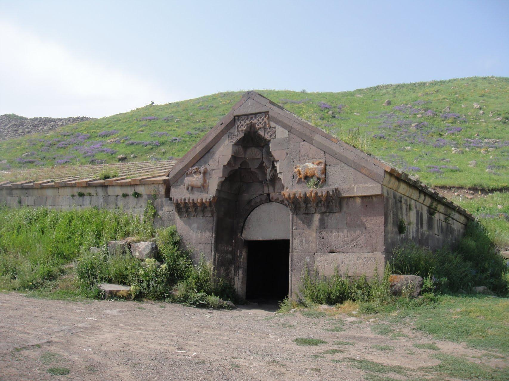 mysterious travelers at the caravanaserai